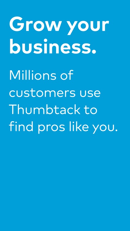 Thumbtack for Professionals