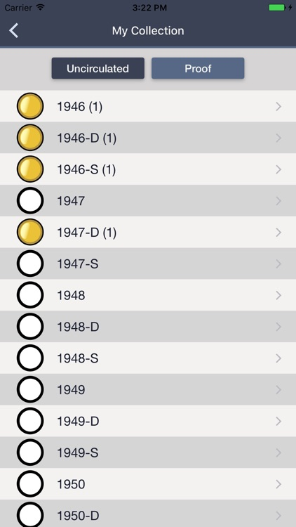 Roosevelt Dimes - Coin Guide & Collection Tracker screenshot-3