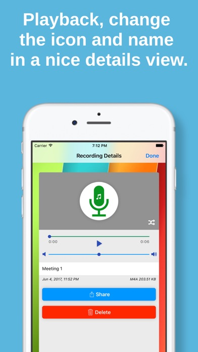 Audio, Voice & Music Recorderのおすすめ画像3