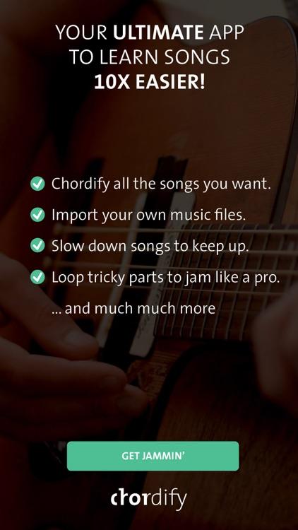 Chordify - chords for any song screenshot-4
