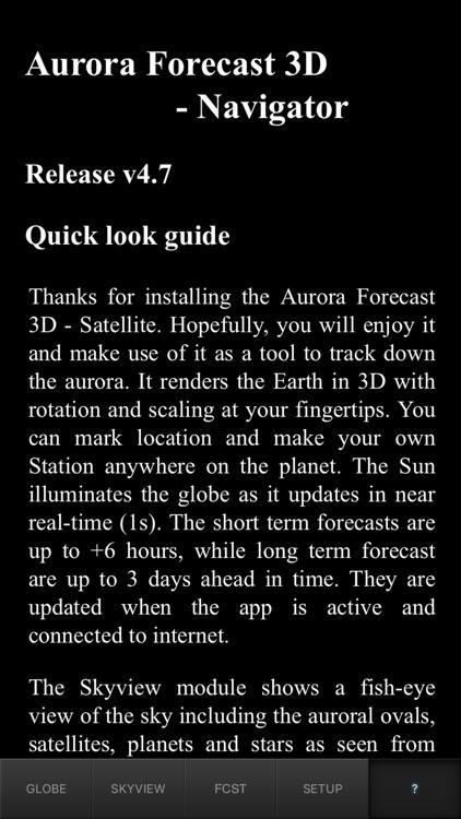 Aurora Forecast 3D screenshot-3