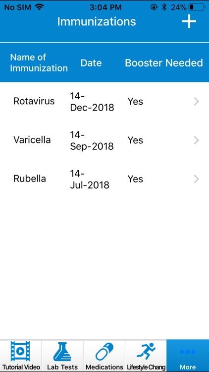 Track My Health screenshot-9