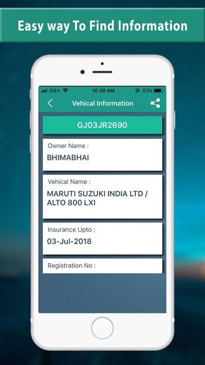RTO - Search Vehicle Details by Jaydeep Dhameliya