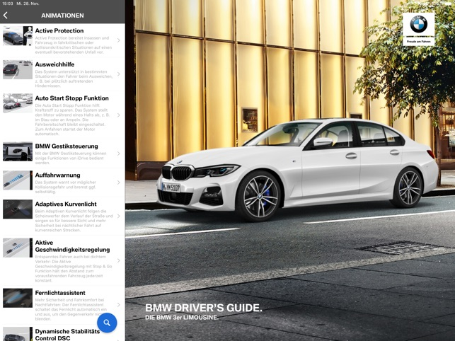Bmw Drivers Guide Im App Store
