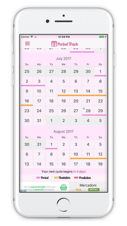Period Track - Ovulation & Period Tracker