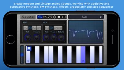 EGSY01 Lite - Analog Synth screenshot one