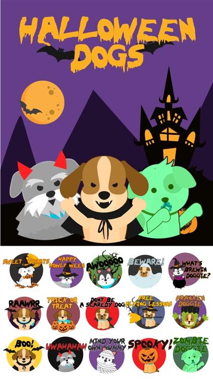 Halloween DogMOJI Stickers