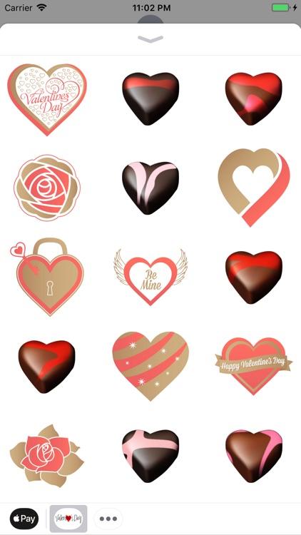 Valentin Love Romantic Sticker screenshot-3