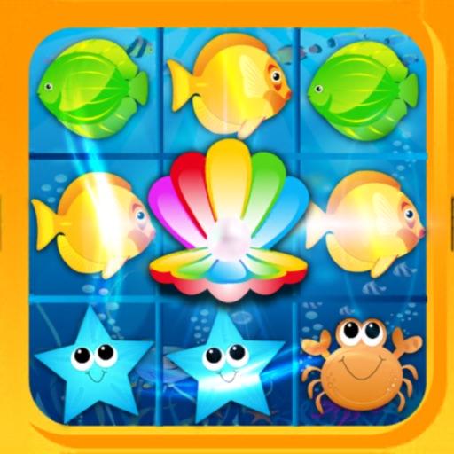Fish Fantasy Match 3