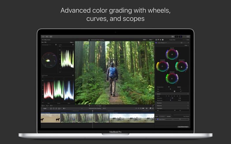 Final Cut Pro review screenshots