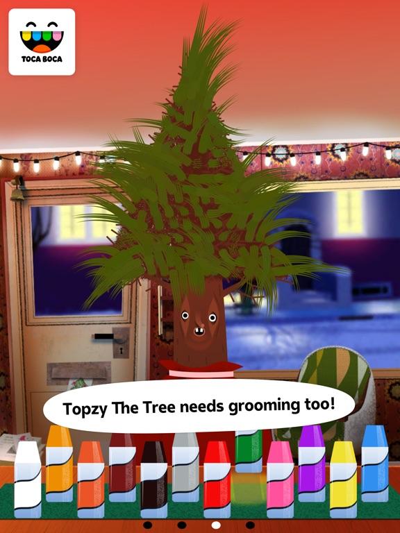 Screenshot #4 for Toca Hair Salon - Christmas