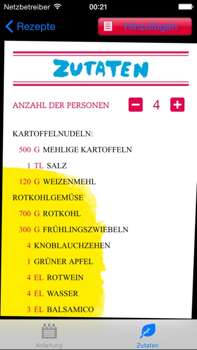 Screenshot for Vegan Kochen in Germany App Store