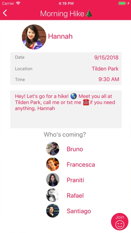 Joinr - Share your plans screenshot-3
