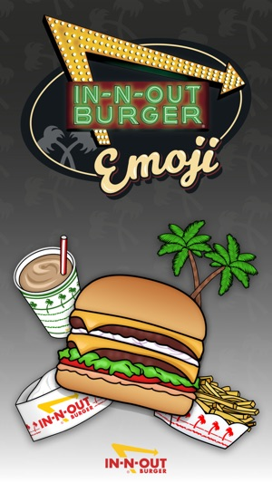 in n out emoji on the app store