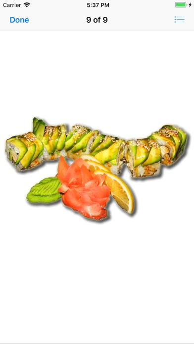 点击获取Super Sushi Stickers