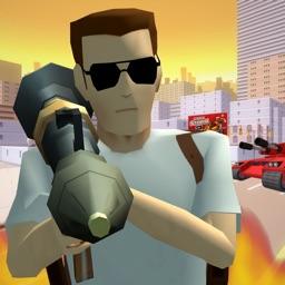 绝地枪战-自由驾驶汽车游戏