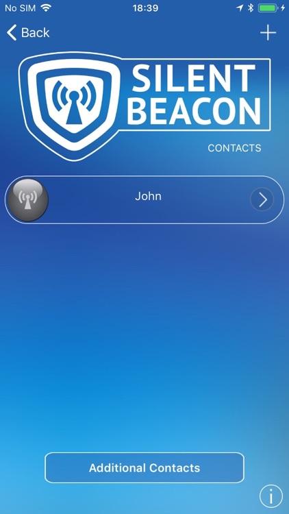 Safety App for Silent Beacon screenshot-4