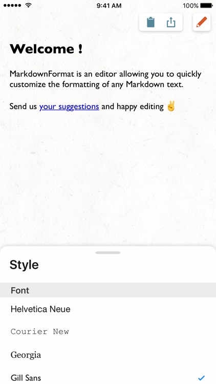 MD Format, a MarkDown editor with style screenshot-3