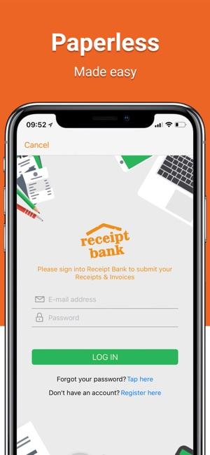Receipt Bank Scanner Tracker On The App Store - Invoice scanning software free best online watch store
