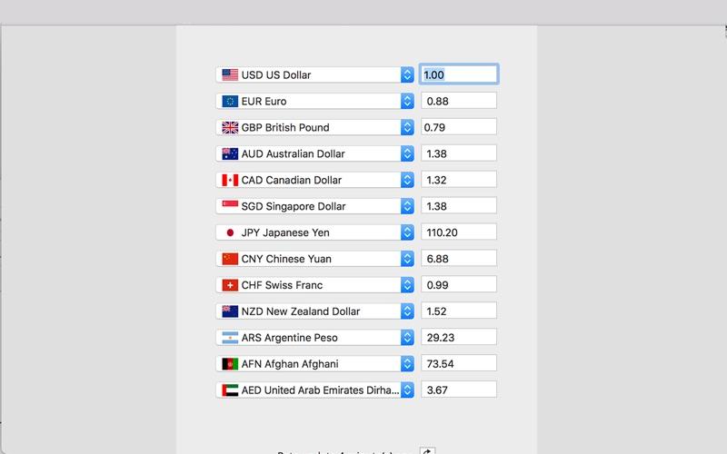 CurrencyRatesConverter Screenshot - 3