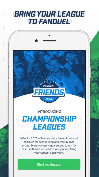 FanDuel - Fantasy Football Draft & Daily Contests screenshot-3