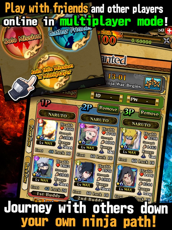 Игра Ultimate Ninja Blazing