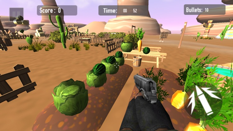 Watermelon Fruit Shooter FPS screenshot-3