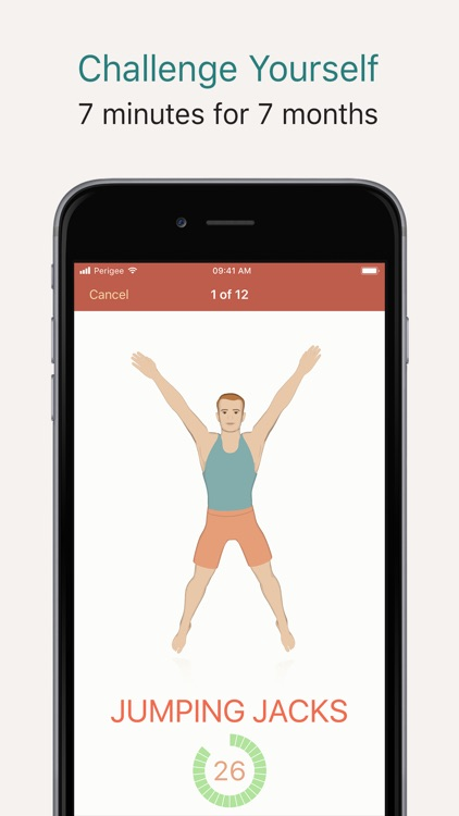 Seven - 7 Minute Workout App