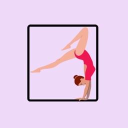 Gymnastics Stickers - Fun!