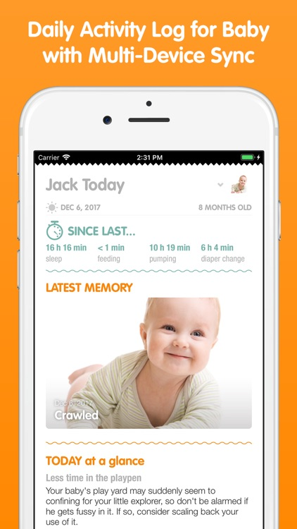 Sprout Baby (Baby Tracker) screenshot-0