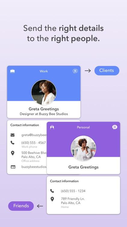 HiHello Contact Exchange screenshot-3