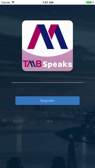 点击获取TMB Speaks