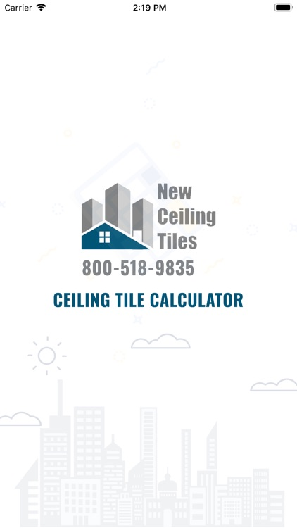 Ceiling Tile Calculator
