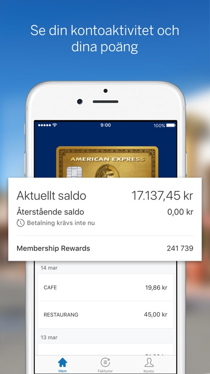 Amex Sverige screenshot-0