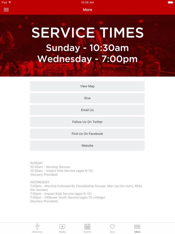 Rescue Church App screenshot 6