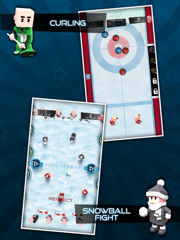 Screenshot #3 for Flick Champions Winter Sports