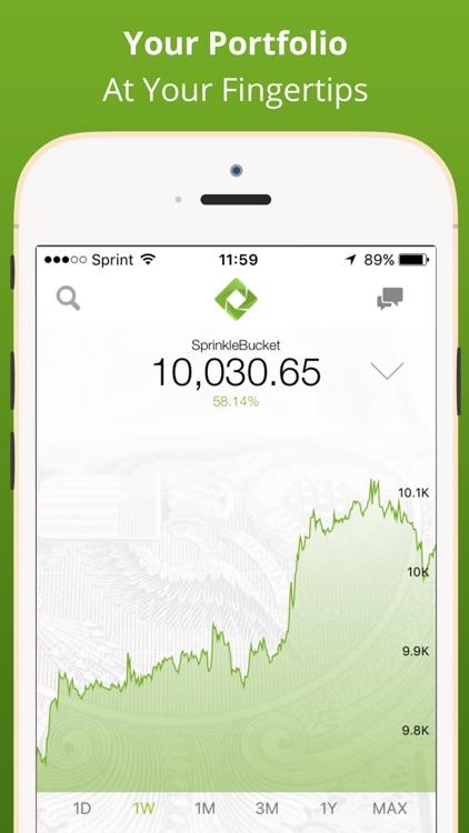 SprinkleBit - Stock Investing, Social Trading App