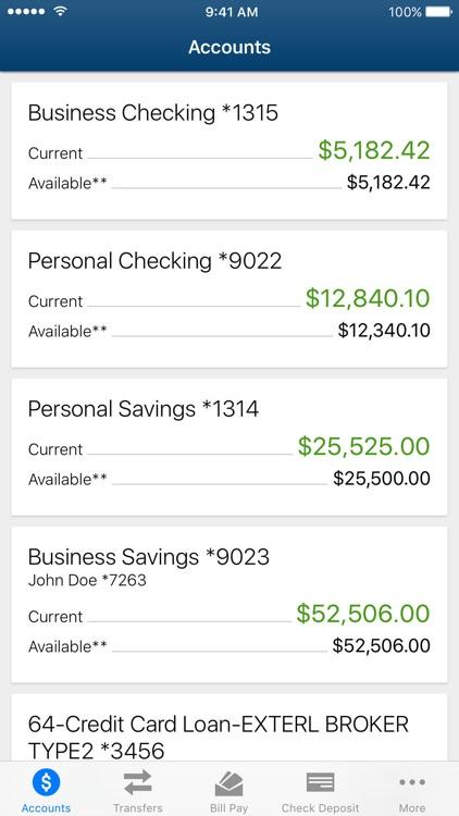 Tyndall e-Banking screenshot-4