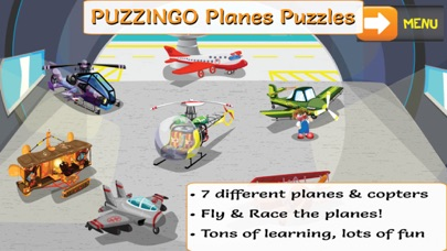 PUZZINGO Planes Puzzles Games screenshot one