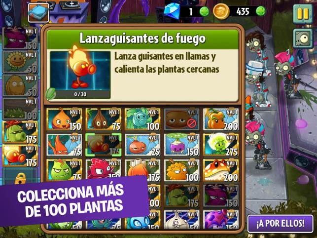 Plants Vs Zombies 2 En App Store