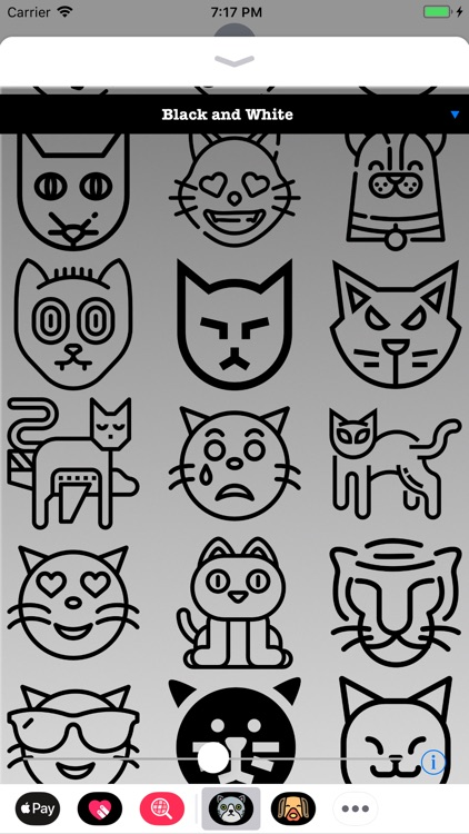 Cute Kitty Cat Stickers