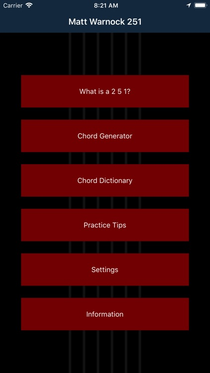 Matt Warnock Guitar 251 Chords screenshot-4