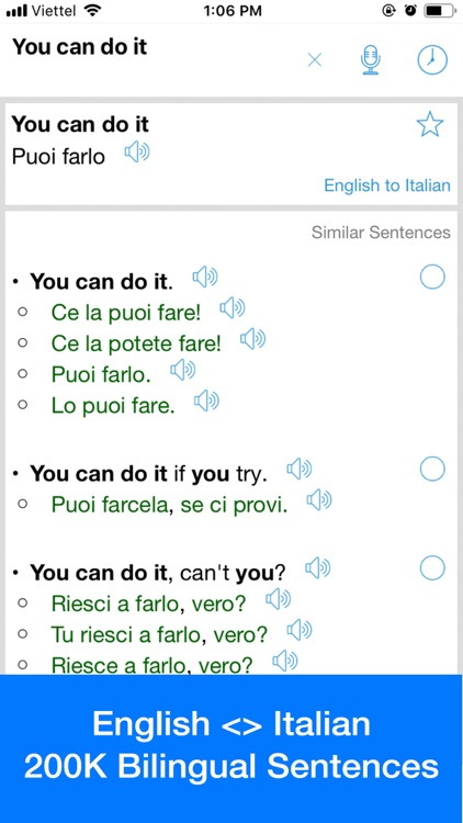Italian Translator OFFLINE