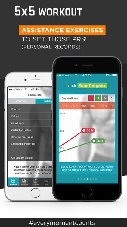 5x5 Workout Pro - Zen Labs screenshot-4