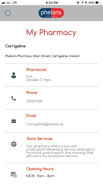Phelans Pharmacy App screenshot-3