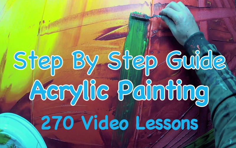 Acrylic Painting Tutorial screenshot 1