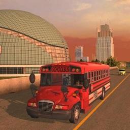 School Bus Drive Sim