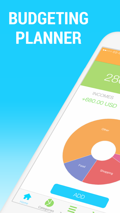 Download app for iOS, Android - Personal Budget - Money