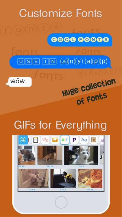 ReBoard Keyboard: Fonts+Themes screenshot-6