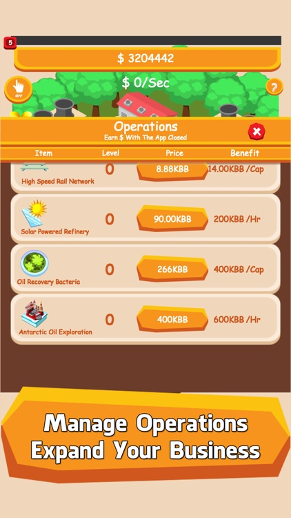 Oil Tycoon: Tap City Miner Inc screenshot-4